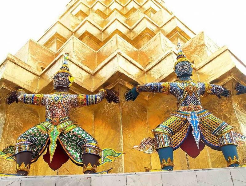 nog meer tempels in uw privereis door Thailand